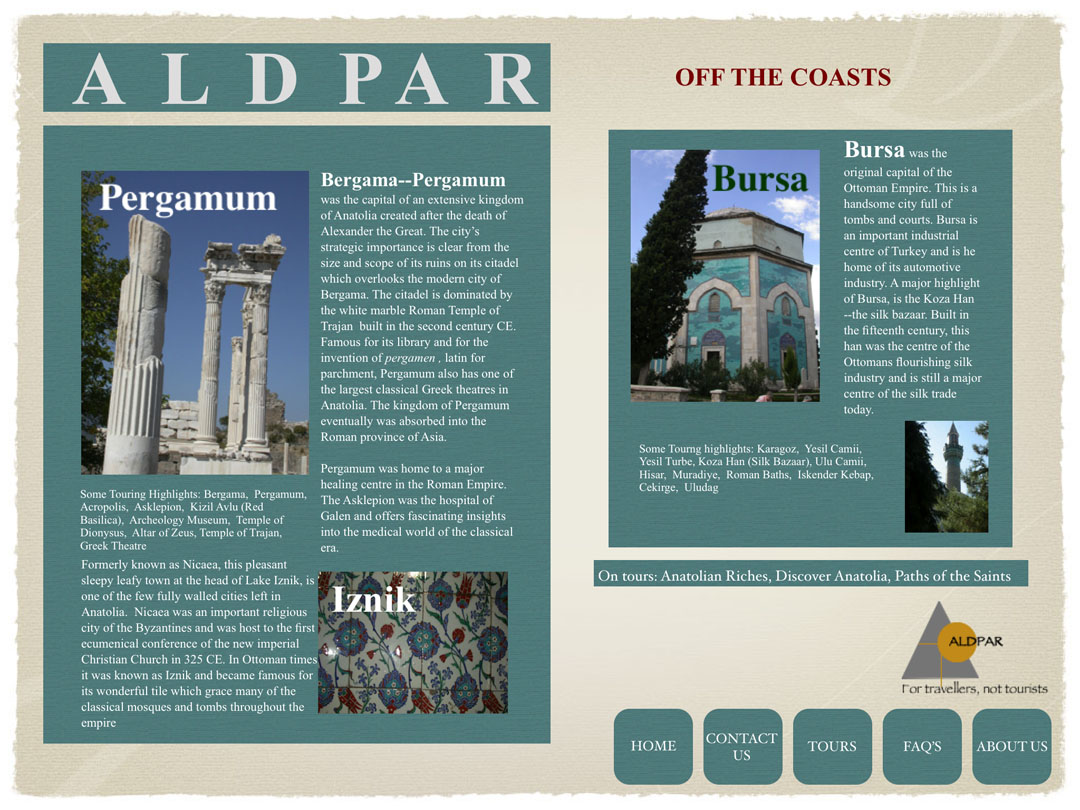 Off the Coasts